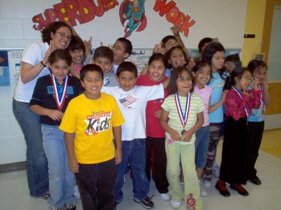 My last elementary school class