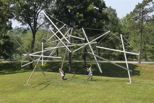 Free Ride Home by Kenneth Snelson